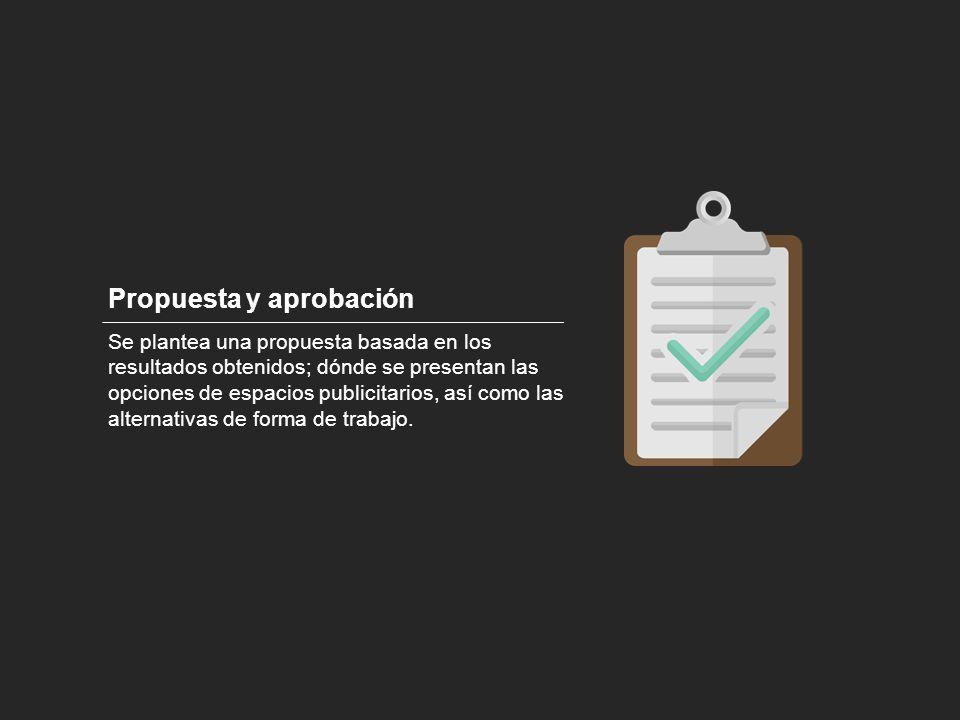 Propuesta y aprobación