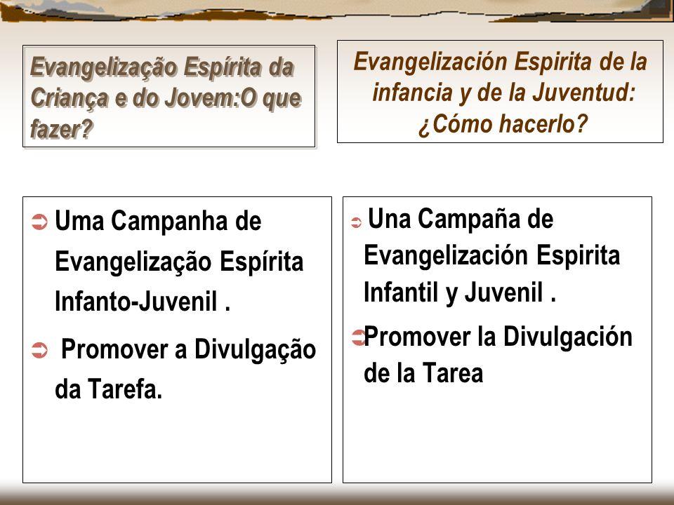 Evangelização Espírita da Criança e do Jovem:O que fazer