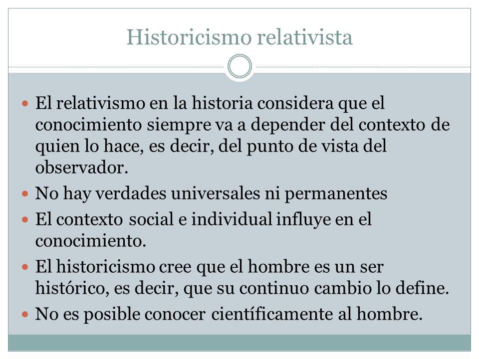 Historicismo relativista