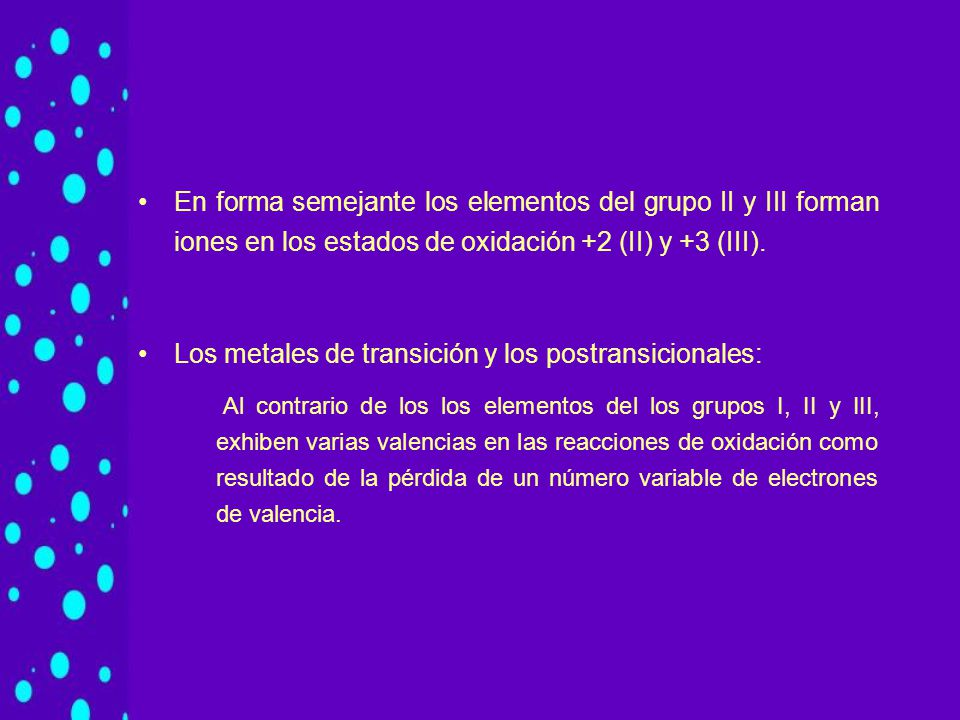 Cationes monoatmicos ppt video online descargar los metales de transicin y los postransicionales urtaz Gallery