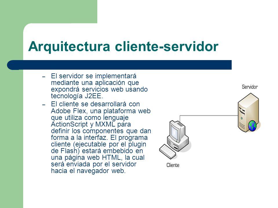 mensajer a cliente servidor en flex y java ppt descargar