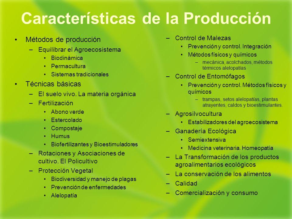 Los productos ecol gicos ppt descargar Rotaciones de cultivos ecologicos