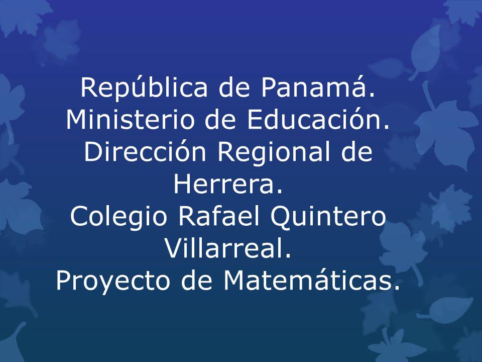 Rep blica de panam ministerio de educaci n ppt descargar for Ministerio de educacion plazas