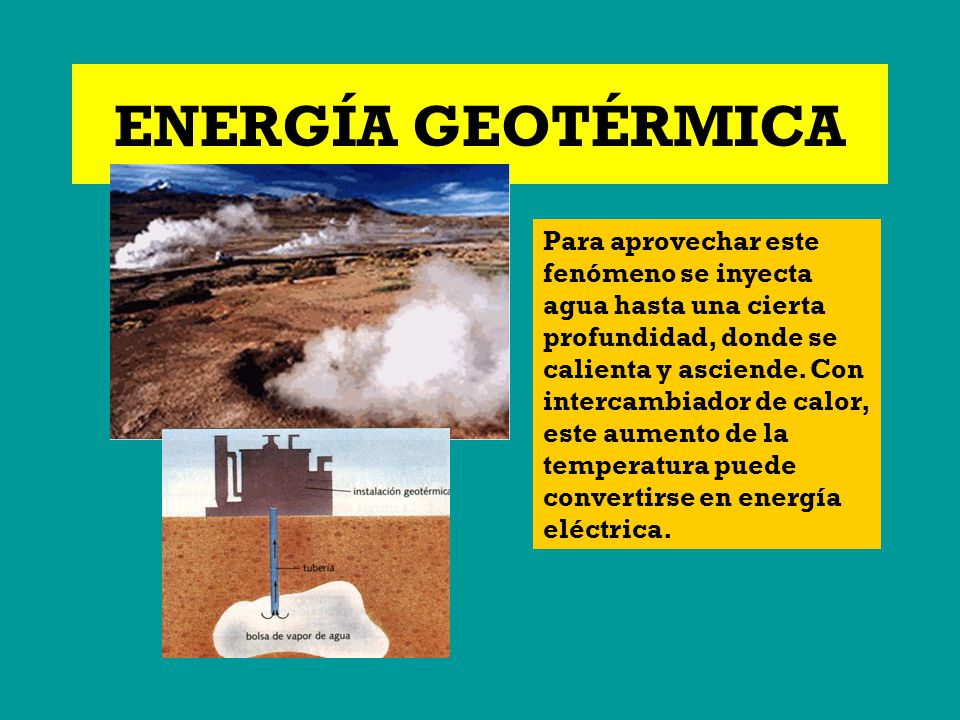 Energia geotermica ejemplos c mo funciona la energ a geot rmica - Energia geotermica domestica ...