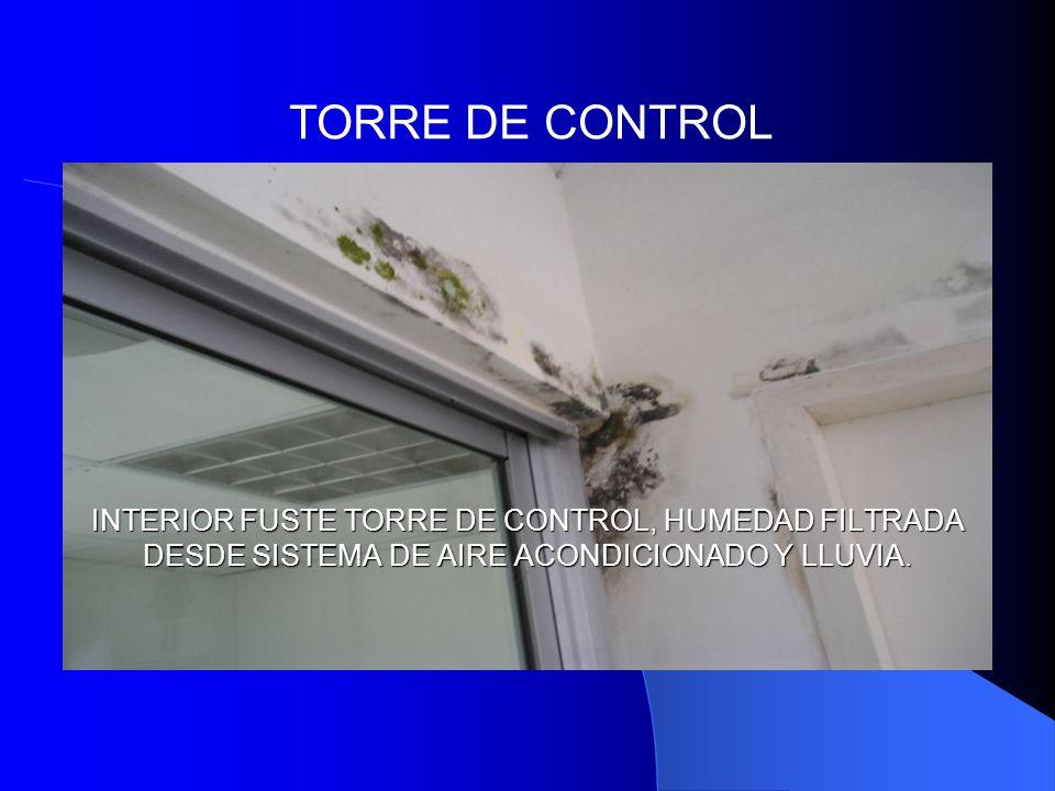 Aeropuerto antonio roldan betancourt informe preliminar for Torre aire acondicionado