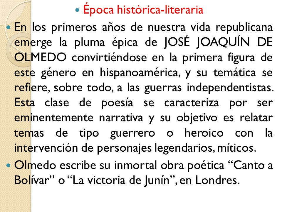 Época histórica-literaria