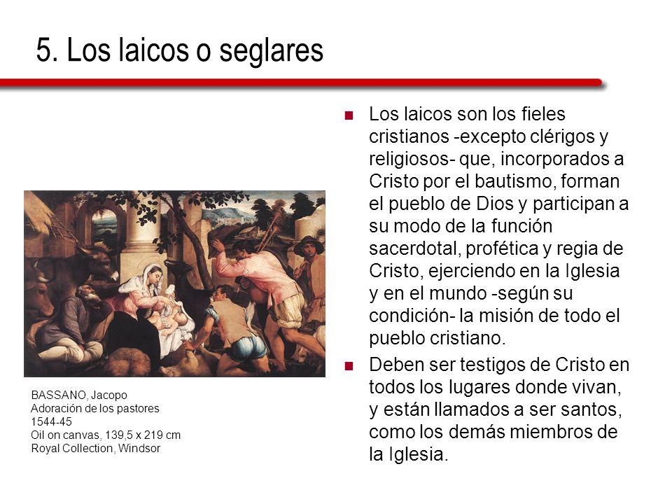 5. Los laicos o seglares