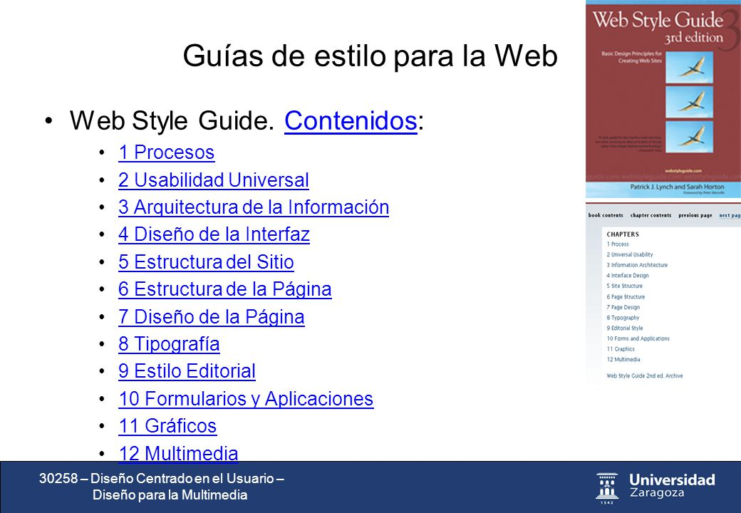 dise u00f1o centrado en el usuario dise u00f1o para la multimedia web style guide 3rd edition Sample Production Style Guides