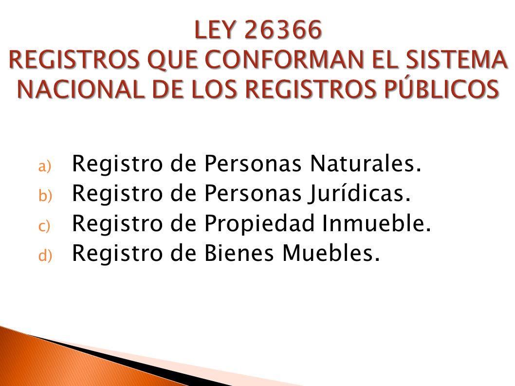 Marco Normativo De Los Registros P Blicos Ppt Descargar # Registro Bienes Muebles Buques