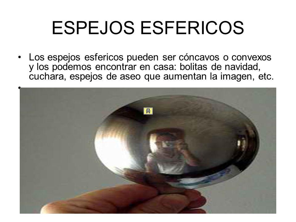 Reflexion de la luz reflexion de la luz y espejos ppt for Espejos esfericos convexos