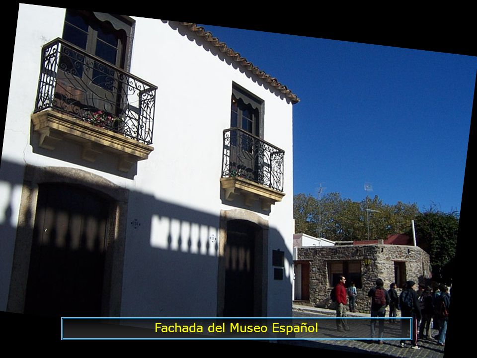 Fachada del Museo Español