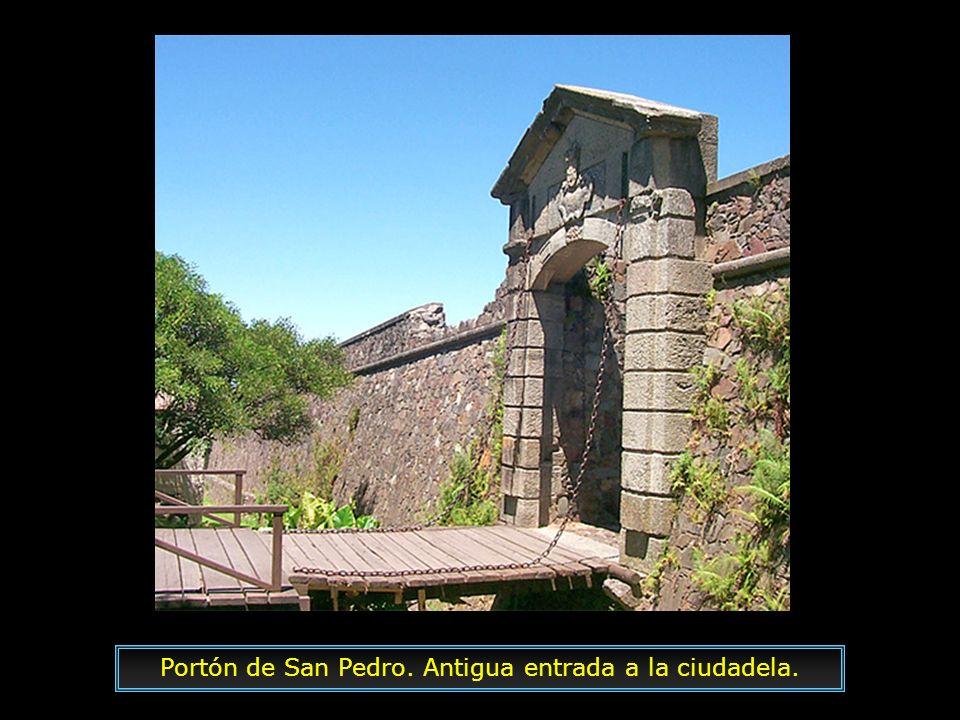 Portón de San Pedro. Antigua entrada a la ciudadela.