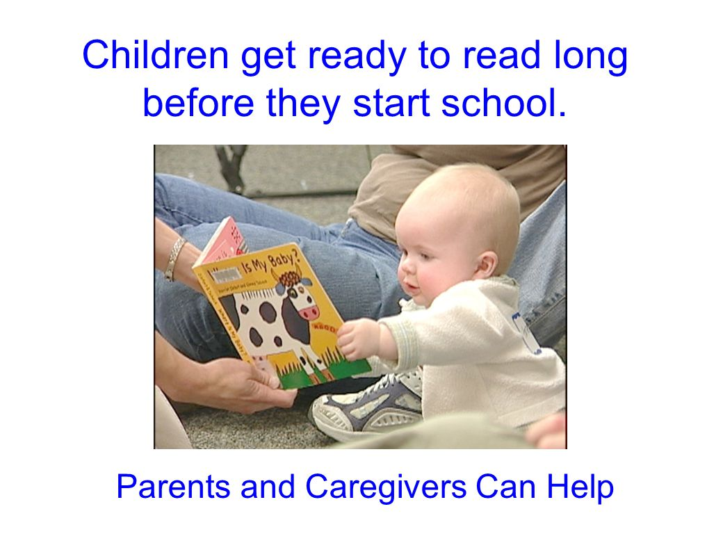 how to get your children to read