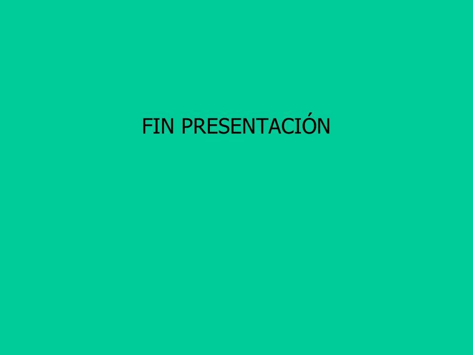 FIN PRESENTACIÓN
