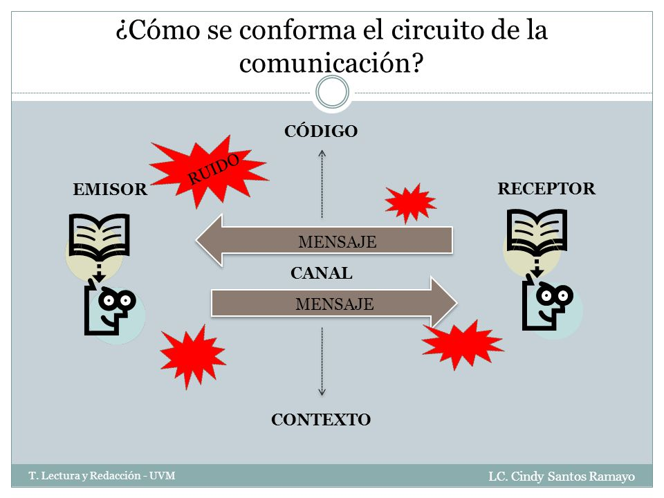 ¿Cómo se conforma el circuito de la comunicación
