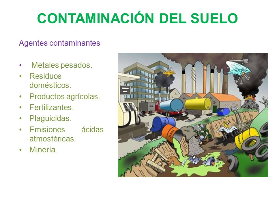Contaminaci n del suelo ppt video online descargar for Sustancias del suelo