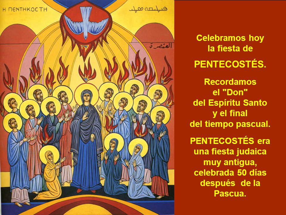 ven esp237ritu santo pentecost233s ppt video online descargar
