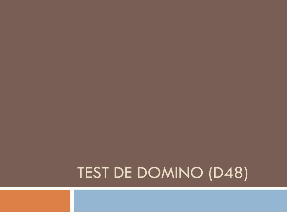 Test de domino (d48)