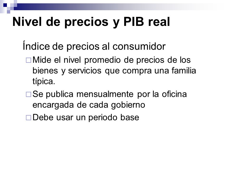 Medici n del pbi ppt video online descargar for Oficina del consumidor online
