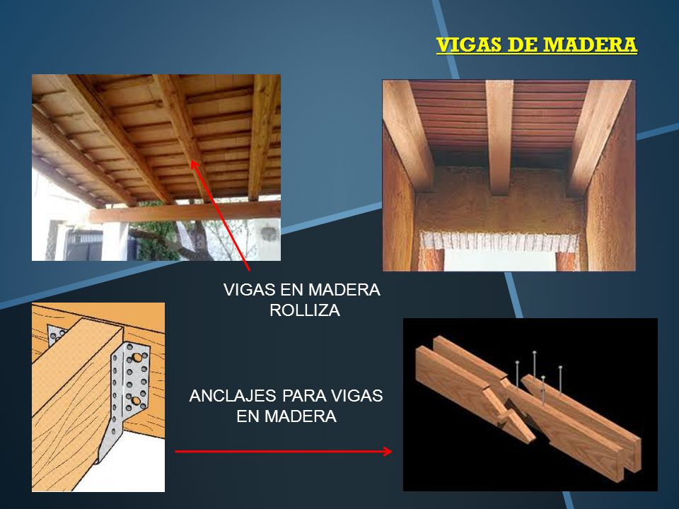 Detalles de vigas ppt video online descargar - Como colocar vigas de madera ...