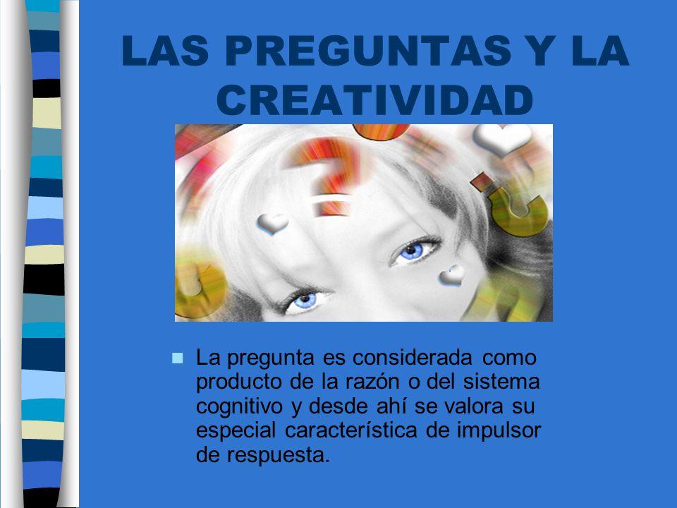 LAS PREGUNTAS Y LA CREATIVIDAD