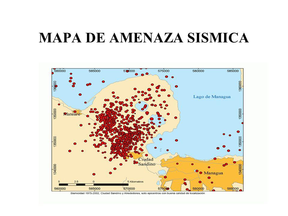 MAPA DE AMENAZA SISMICA