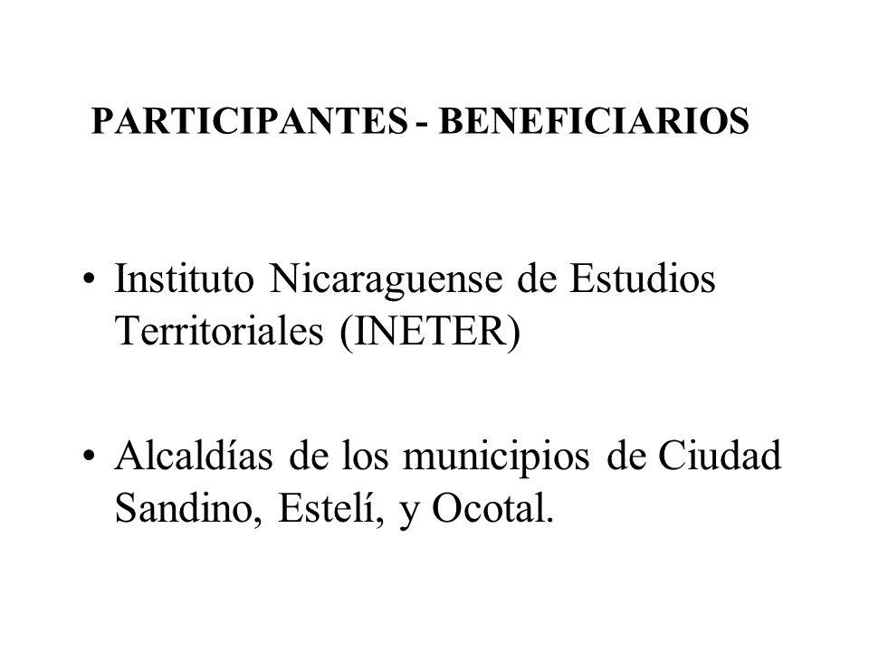 PARTICIPANTES - BENEFICIARIOS