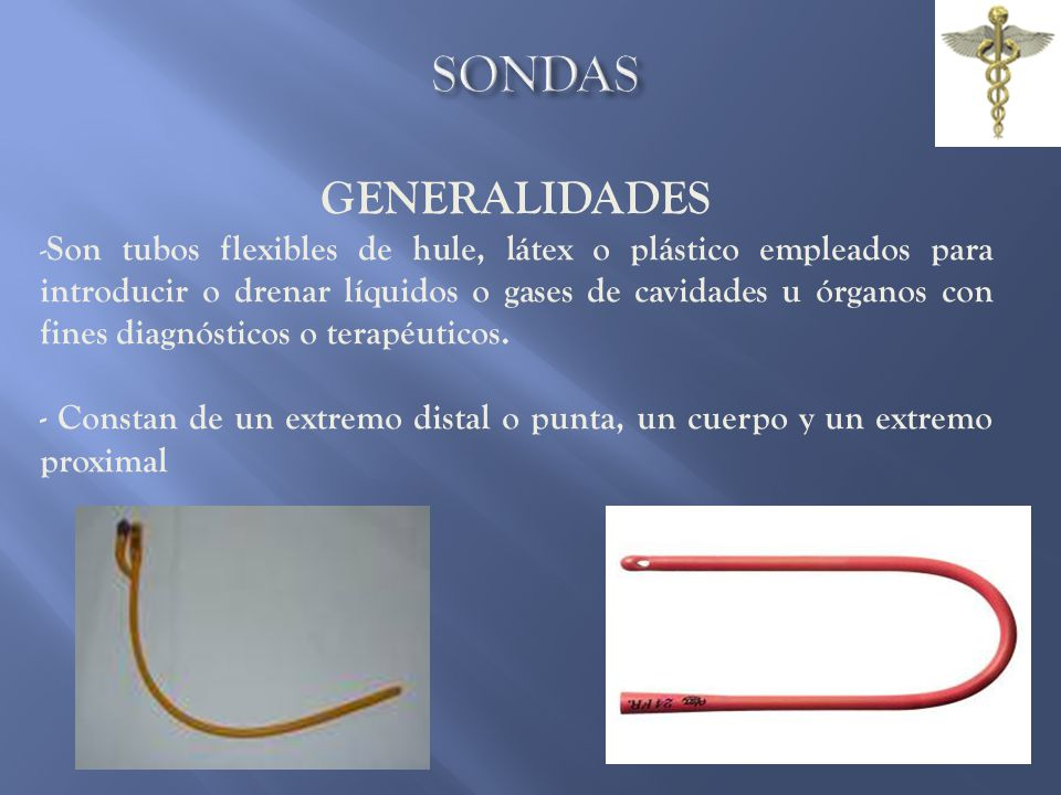 SONDAS GENERALIDADES.