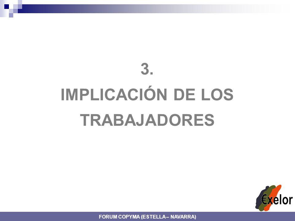 IMPLICACIÓN DE LOS TRABAJADORES FORUM COPYMA (ESTELLA – NAVARRA)