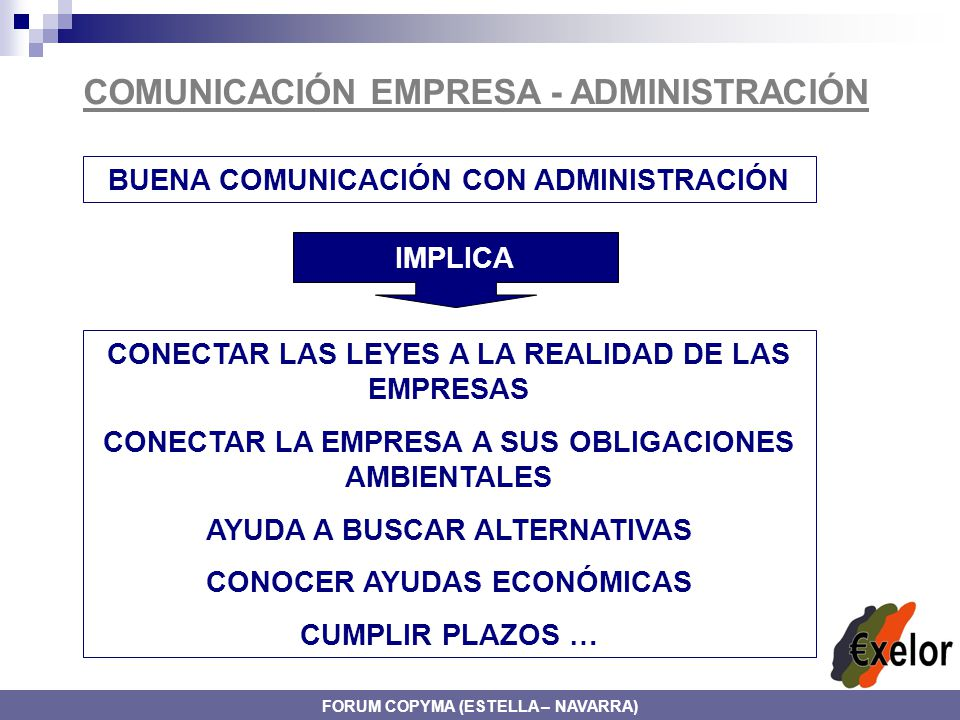 COMUNICACIÓN EMPRESA - ADMINISTRACIÓN