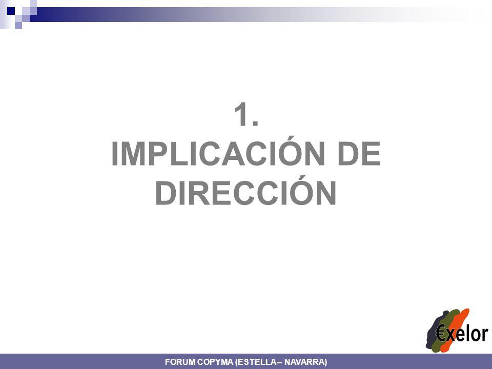 IMPLICACIÓN DE DIRECCIÓN FORUM COPYMA (ESTELLA – NAVARRA)