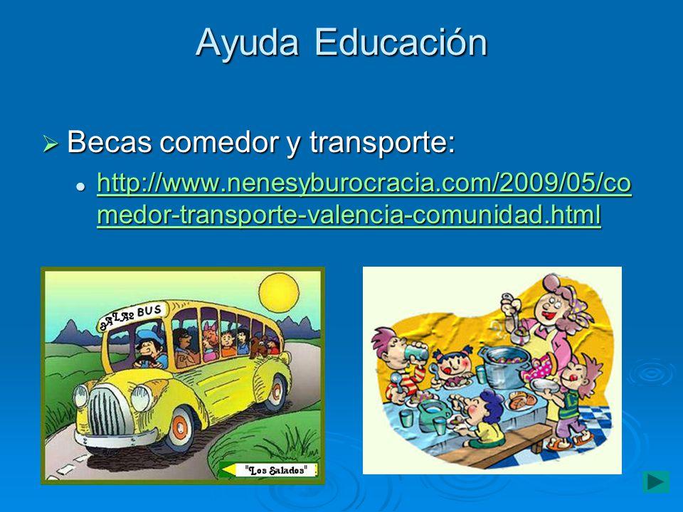 Becas comedor y transporte en la comunidad valenciana - Becas comedor valencia ...