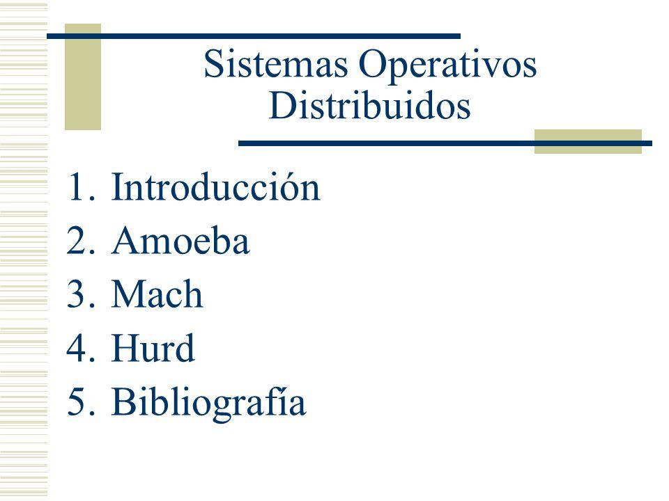 Sistemas Operativos Distribuidos 1ra Edicion Andrew