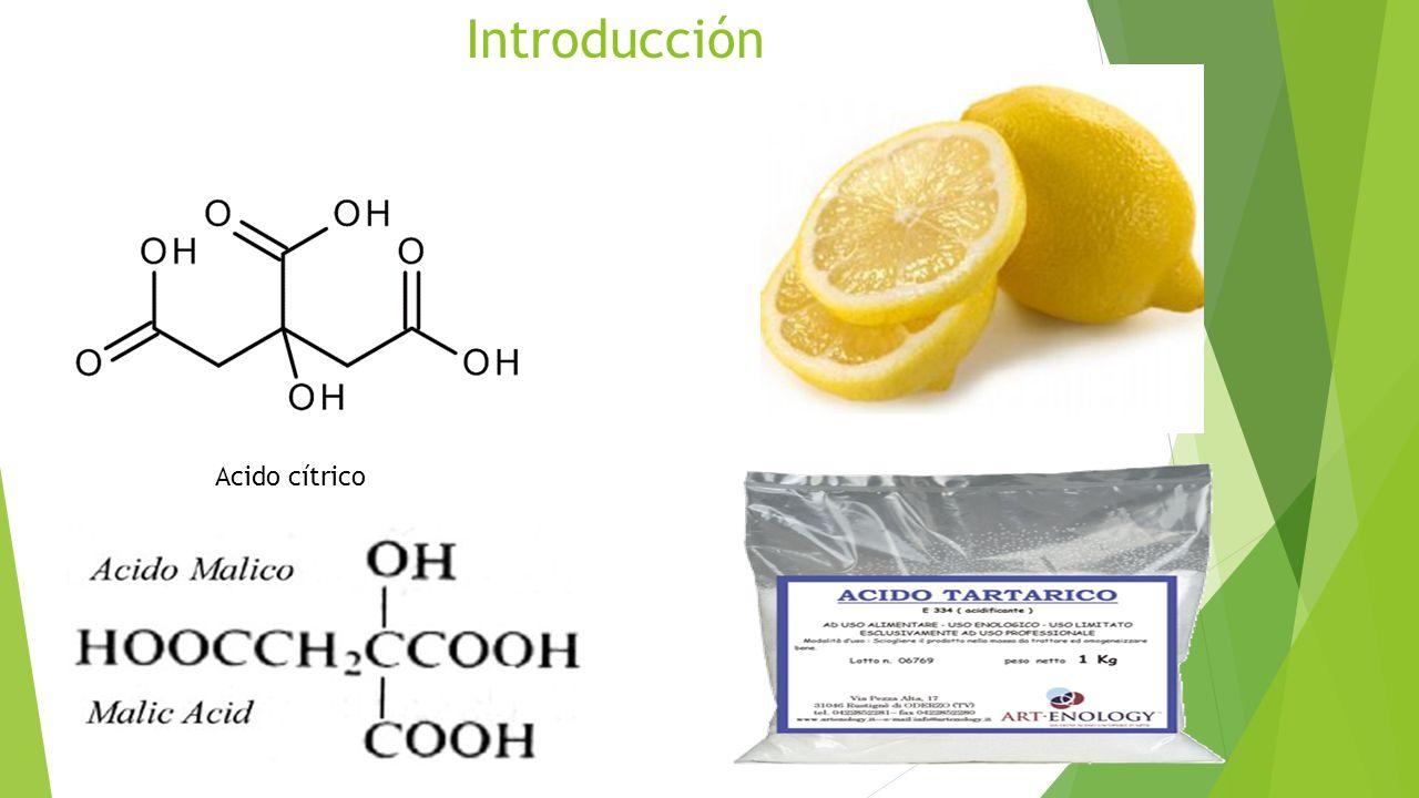 Introducción Acido cítrico