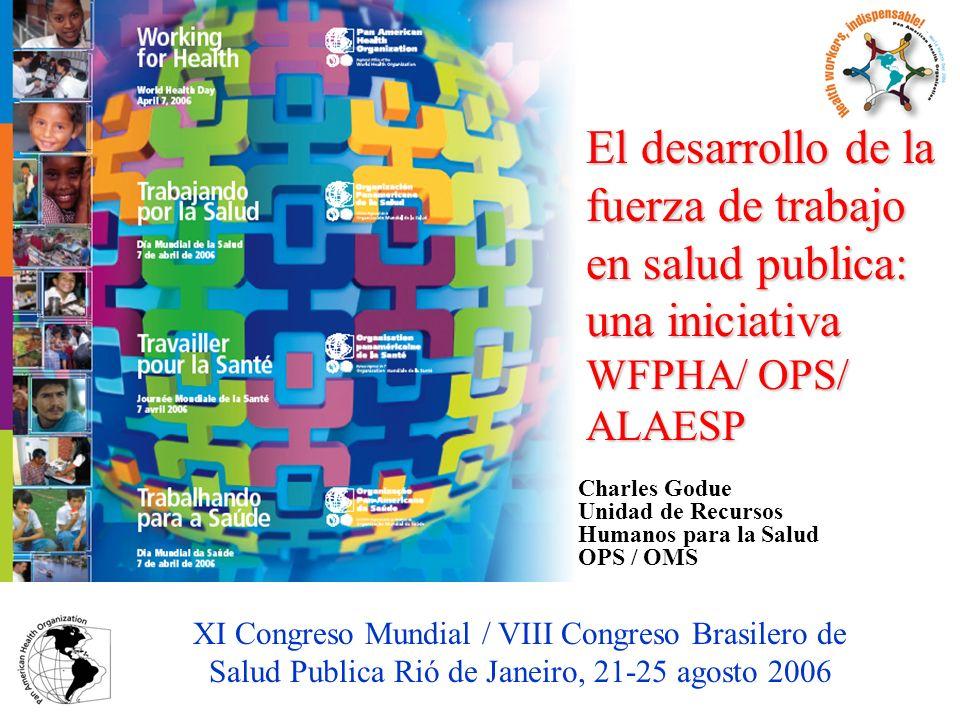 Charles Godue Unidad de Recursos Humanos para la Salud OPS / OMS