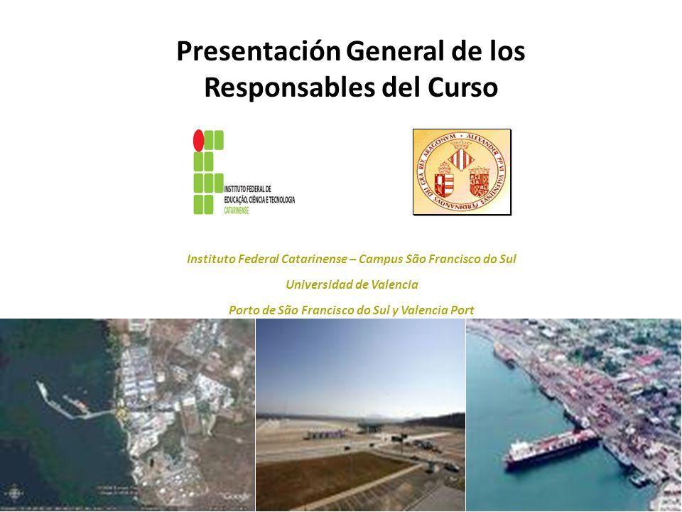 Presentación General de los Responsables del Curso