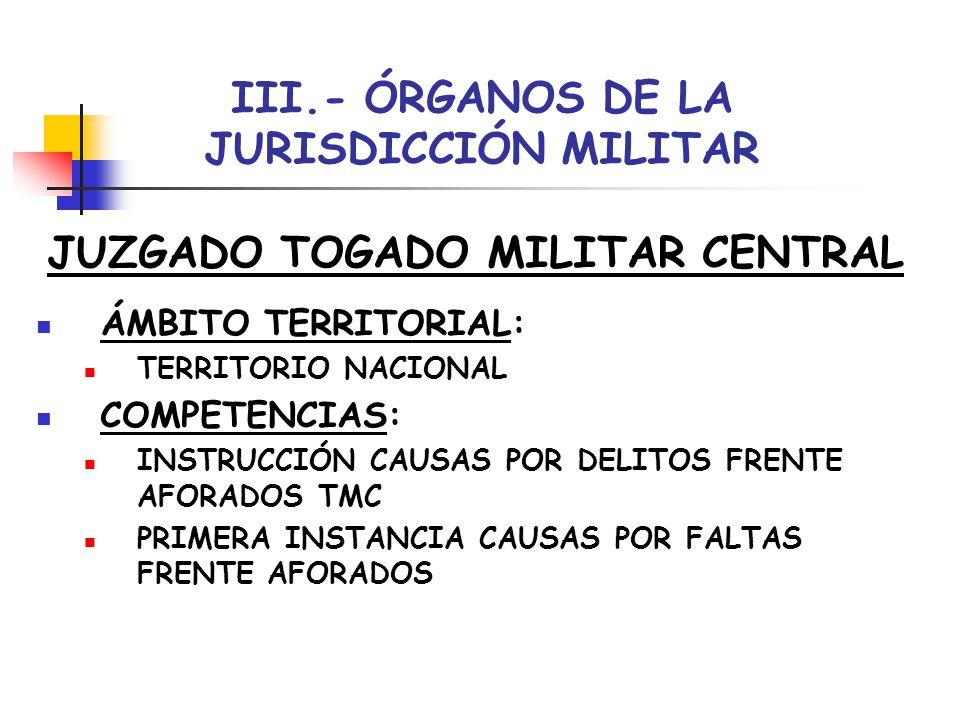 Introducci n al derecho procesal tema 6 rganos jurisdiccionales ppt video online descargar for Juzgado togado militar