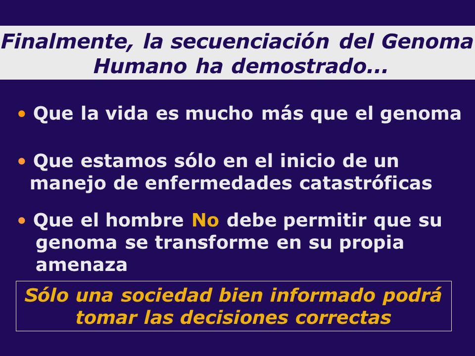 El proyecto del genoma humano ppt descargar for En 2003 se completo la secuenciacion del humano