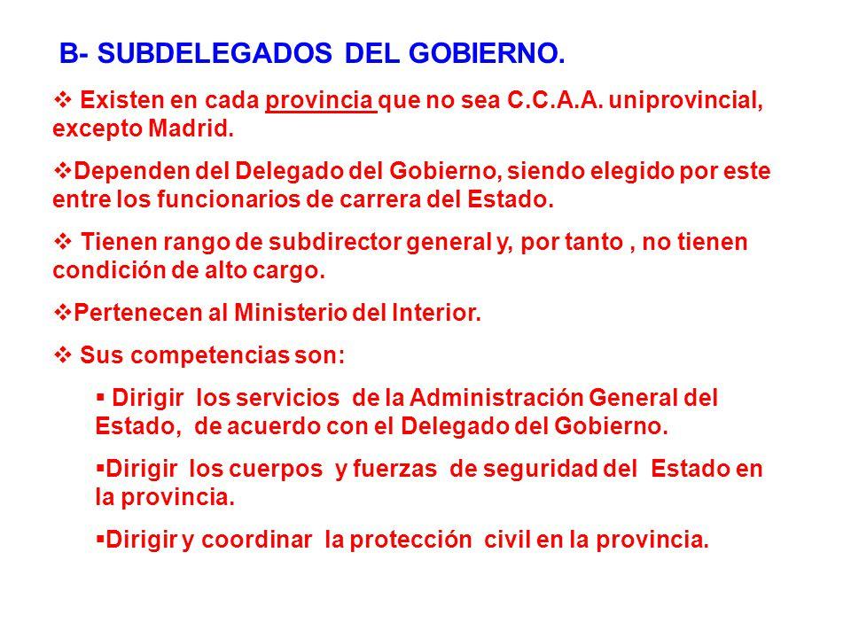 Tema 3 la administraci n p blica espa ola ppt video for Competencias del ministerio del interior