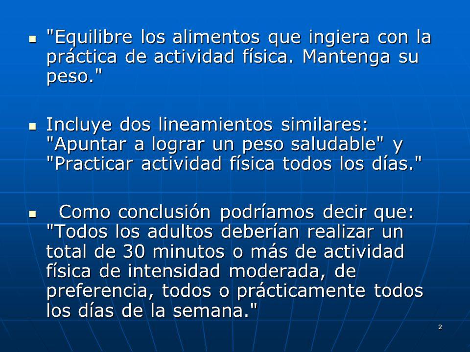 Tema: Nutrición y Actividad Física - ppt descargar