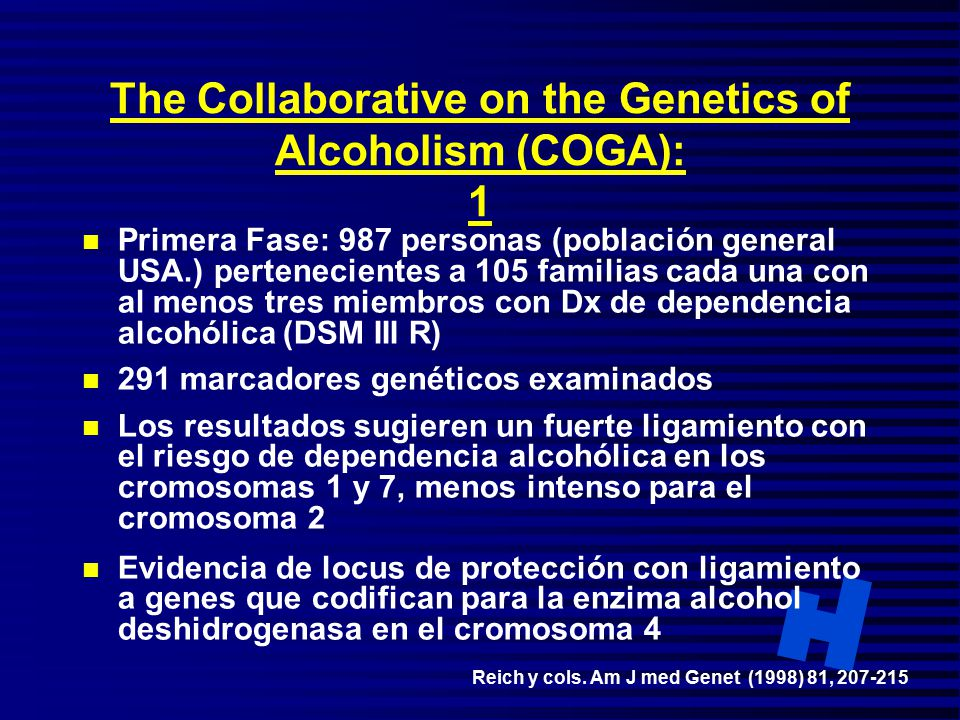 Collaborative Study on the Genetics of Alcoholism - Wikipedia