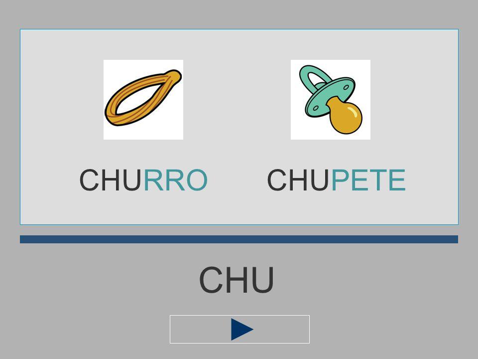 CHURRO CHUPETE CHU