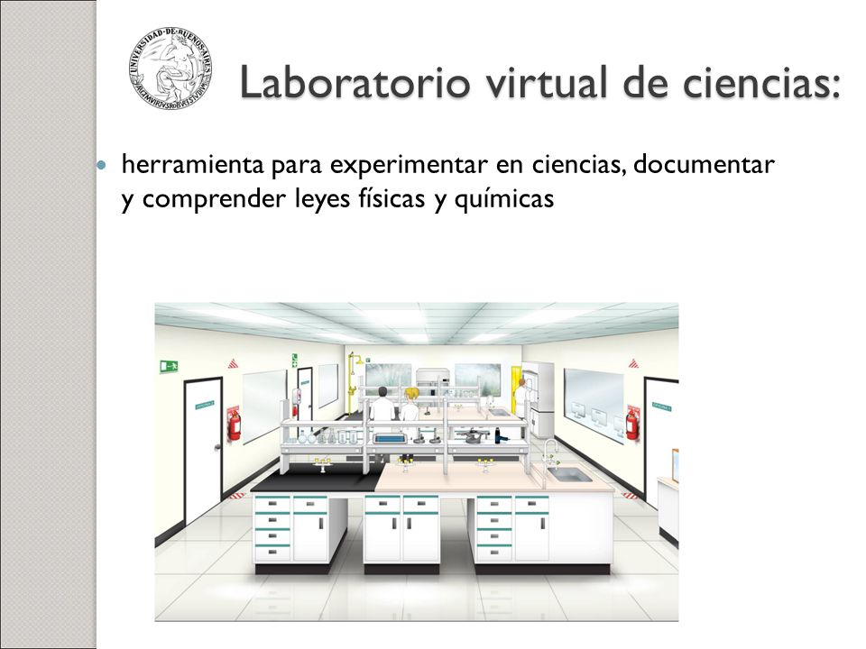 Laboratorio virtual de ciencias: