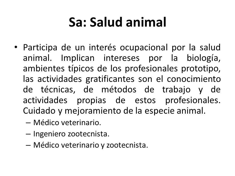 Sa: Salud animal