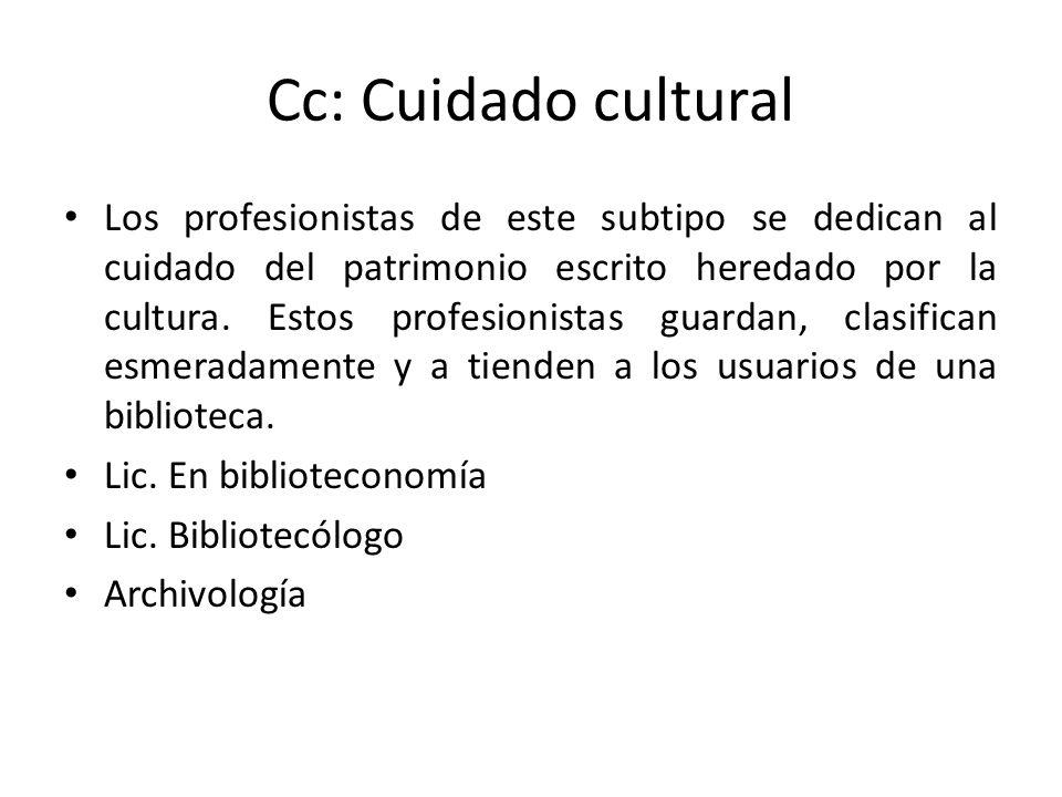Cc: Cuidado cultural