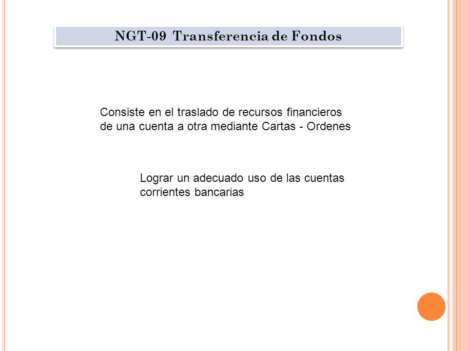 NGT-09 Transferencia de Fondos