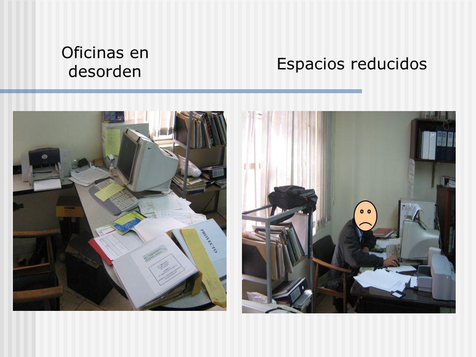 Orden y aseo ppt video online descargar for Espacios minimos para oficinas