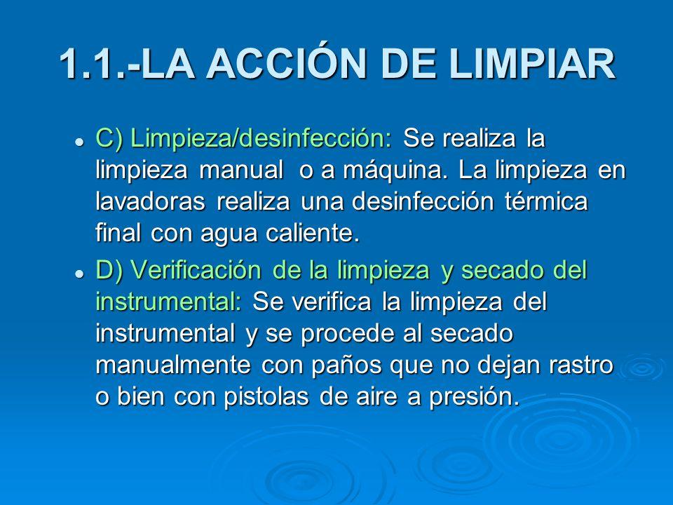 Limpieza y desinfecci n de materiales e instrumentos ppt for Manual de limpieza y desinfeccion en restaurantes