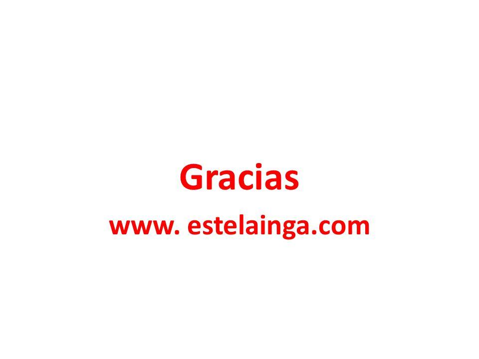 Gracias www. estelainga.com