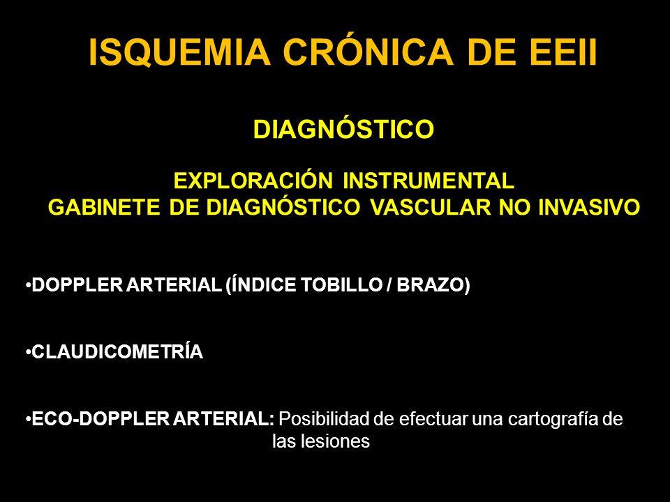 ISQUEMIA CRÓNICA DE EEII